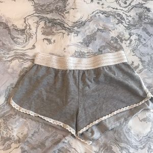 Grey and Lace shorts